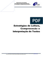 Apostila Curso Estrategias de Leitura Compreensao e Interpretacao de Textos