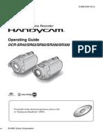 sony DCRSR42 service manual