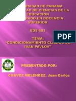 """""""Condicionamiento Clásico de Ivan Pavlov"""""""