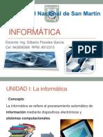 Unidad I Informática
