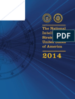 The National Intelligence Strategy of the United States of America 2014