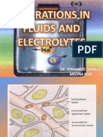 Alterations in Fluids and Electrolytes