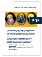 Seer Trinity of South and Their Purvashram PDF