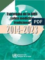 Oms y Medicinas Tradicionales Web