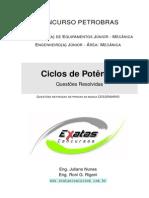 Amostra Petrobras Eng Equipamentos Jr Mecanica Ciclos de Potencia