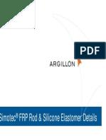 Simotec FRP Rod Silicone Elastomer Details
