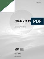 Sony Dvd Player DVP-K360