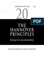 The Hannover Principles - 20 Years Design of Sustainability