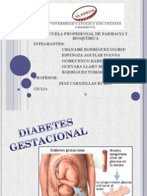 diabetes conceptos básicos de diabetes gestacional