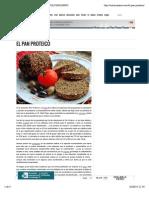 El Pan Proteico - Columnazero - Columnazero