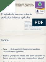 EA El Estado de Los Mercados de Productos Básicos Agrícolas