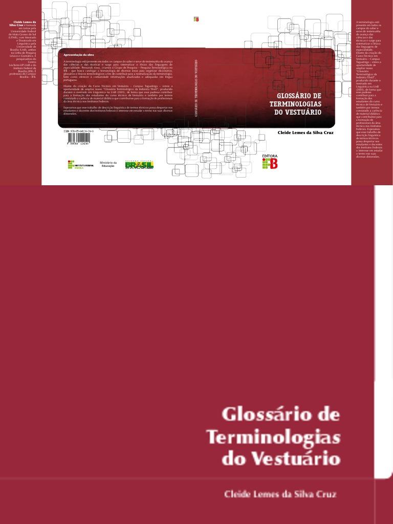 002 - Glossário de Terminologias Do Vestuário-1 6a4ee72b232