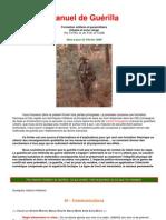 Manuel De Formation Guérilla Et Terrorisme