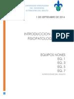 1. Introduccion a La Fisiopatologia