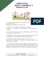 ejercicios de formula empirica y molecular.pdf