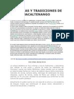 Culturas y Tradiciones de Jacaltenango