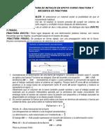Clase 02 2014 Fractura y Mecánica de Fractura