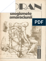 Emil Cioran-Silogismele Amaraciunii-Humanitas (1992)