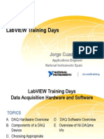 Labview Training Days Adquisicion Datos