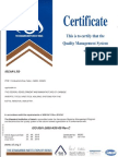 Iscar Ltd Iso9001 2008 As9001revc