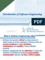 1 Introduction of Software Enasgineering-Std