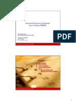 Gestión de Proyectos de Seguridad Bajo El Enfoque PMBOK - Conferencia ISACA