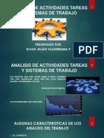 Analisis de Actividades Tareas y Sistemas de Trabajo Sem Viii