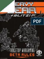 Heavy Gear Blitz Beta Rules