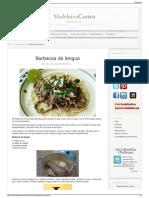 Barbacoa de Lengua Madeleine Cocina