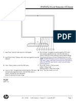HP Monitor Manual