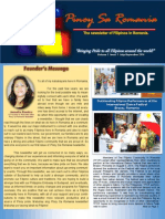 Pinoy Sa Romania Newsletter