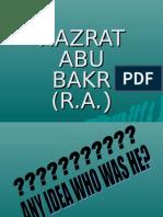 1 Hazrat Abu Bakr