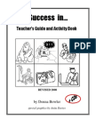 Success in...Teacher's Guide and Activity Book