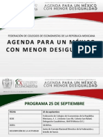 Programa XX Congreso Nacional de Economistas FCERM