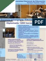Docencia en Educacion Superior Docencia Universitaria