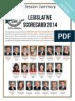 2014 Taxpayers League of Minnesota Scorecard