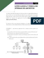 Organización Logica y Fisica de Los Sistemas de Archivos