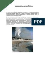 Contaminantes atmosféricos