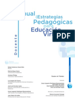 Manual Estrategias Pedagogicas Educacion Virtual