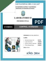 Informe Labo2 Control Avanzado