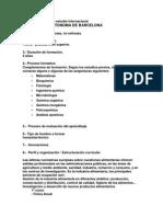 Análisis de Planes de Estudio Internacional Dani