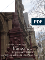 Trial Transcripts Day 1-8- Cripps v Artists-complete