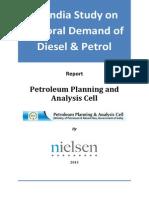 Petrol & Diesel Demand_2013_Nielsen