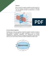 Ley de Gauss Eléctrica
