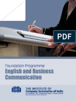 English and Business Communication