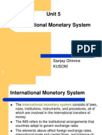 Unit 5 International Monetary System