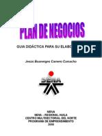 PLAN DE NEGOCIOS - Guía Didáctica SENA.doc