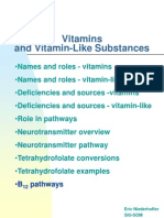 Vitamins and functions