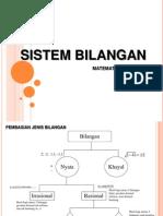 Math03 Sistem Bilangan
