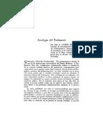 Sociología Del Parlamento - Luder, Italo